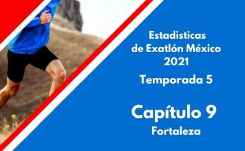 Estadísticas de Exatlón México 2021, Temporada 5, Capítulo96, comptencia por Fortaleza, lunes 26 de agosto 2021